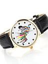 Women's Horse Case Leather Band Analog Quartz Watch Wrist Watch Fashion Watch Cool Watches Unique Watches