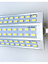10 R7S LED 콘 조명 T 48LED SMD 5730 680LM-800LM lm 따뜻한 화이트 / 차가운 화이트 장식 AC 85-265 V 1개