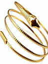 Femme Bracelets Rigides Couche double Mode Boheme Adorable Alliage Bijoux Serpent Bijoux PourSoiree Quotidien Decontracte Regalos de