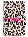 PU Leather Material Yellow Leopard Pattern Tablet Sleeve for Galaxy Tab T550/T560