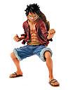 Аниме Фигурки Вдохновлен One Piece Monkey D. Luffy ПВХ 18 См Модель игрушки игрушки куклы