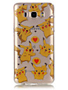 For Samsung Galaxy Case IMD / Transparent / Embossed Case Back Cover Case Cartoon Soft TPU SamsungJ7 (2016) / J7 / J5 (2016) / J5 / J3 /