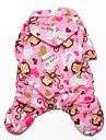 Cat / Dog Rain Coat Blue / Pink / Yellow Winter / Summer / Spring/Fall Animal Waterproof, Dog Clothes