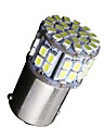 10 X NEW White 1156 RV Camper Trailer 50 SMD LED 1141 1003 Interior Light Bulbs