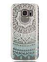 용 Samsung Galaxy S7 Edge 투명 / 패턴 케이스 뒷면 커버 케이스 레이스 디자인 소프트 TPU Samsung S7 edge / S7 / S6 edge / S6 / S5