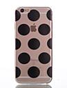 Square Thin Material Transparent TPU Phone Case for iPhone 5/5S /5E/6/6S/6 Plus/6S Plus