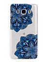 용 삼성 갤럭시 케이스 패턴 케이스 뒷면 커버 케이스 꽃장식 소프트 TPU Samsung J7 (2016) / J5 (2016) / J3 (2016)