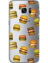 Para Samsung Galaxy S7 Edge Estampada Capinha Capa Traseira Capinha Cor Unica Macia TPU Samsung S7 edge / S7 / S6 edge plus / S6 edge / S6