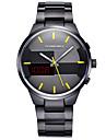 TOMORO 2016 Original Custom Man Digital and Quartz Dual time Sport Watch Men Fashion Metal Steel Relogio LED Watches
