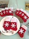 12 pieces / Set mini-bas de Noel vaisselle couverture noel arbre decorations  de Noel partie du festival