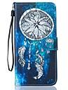 """Для Кейс для iPhone 7 / Кейс для iPhone 7 Plus Кошелек / Бумажник для карт / со стендом Кейс для Чехол Кейс для Рисунок """"Ловец снов"""""""