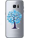 용 Samsung Galaxy S7 Edge 패턴 케이스 뒷면 커버 케이스 나무 소프트 TPU Samsung S7 edge / S7 / S6 edge plus / S6 edge / S6