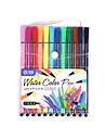 12 de cor conjunto de canetas