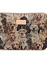 Cute Dog Design 13.3/14/15.6 inch Canvas Laptop Sleeve Bag Ultrabook  Case for Macbook Lenovo Dell