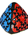 LanLan® Гладкая Speed Cube Пираморфикс профессиональный уровень Кубики-головоломки черный увядает Гладкая наклейки / Анти-поп ABS