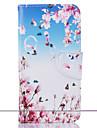 Для Кошелек / Бумажник для карт / со стендом / С узором Кейс для Чехол Кейс для Цветы Твердый Искусственная кожа SamsungJ5 (2016) / J5 /