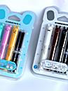 Στυλό Στυλό Στιλό Στυλό,Πλαστικό Βαρέλι Μαύρο Μπλε μελάνι Χρώματα For Σχολικές προμήθειες Προμήθειες γραφείου Πακέτο