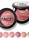 1 Fards Sec Mat Lueur Materiel Poudre Gloss colore Longue Duree Naturel Visage Couleur disponible Chine FOCALLURE