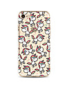 Para Translucido / Estampada Capinha Capa Traseira Capinha Animal Macia TPU AppleiPhone 7 Plus / iPhone 7 / iPhone 6s Plus/6 Plus /