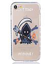 Grim Reaper Pattern Tpu Material Highly Transparent Phone Case For iPhone 7 7 Plus 6s 6 Plus SE 5s 5