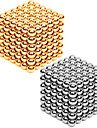 Magnet Toys 2×216PCS 3mm Magnet Toys Executive Toys Puzzle Cube DIY Toys Magnetic Balls Silver / Gold Education Toys For Gift