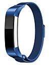 pulseira pulseira de aco inoxidavel Fitbit Alta magnetico Fecho milanese banda de malha estilo loop para Alta Fitbit