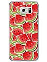 Fruits Watermelon Pattern Soft Ultra-thin TPU Back Cover For Samsung Galaxy S7 Edge S7 S6 Edge S6 Edge Plus S6 S5 S4
