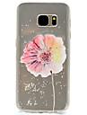 용 패턴 케이스 뒷면 커버 케이스 꽃장식 소프트 TPU Samsung S7 edge / S7 / S5 Mini / S5