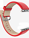 Watch Band For Apple Watch 38mm 42mm Classic Buckle Leather Replacement Strap Wrist Band