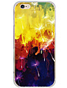 Pour Motif Coque Coque Arriere Coque Pissenlit Dur Polycarbonate pour AppleiPhone 7 Plus / iPhone 7 / iPhone 6s Plus/6 Plus / iPhone 6s/6