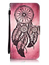 For Samsung Galaxy J7 J5 J3 J1 (2016) J1Mini I9060 ON5 Case Cover Wind Chimes Pattern Painting Card Stent PU Leather