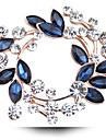 Homme Femme Autre Broche Cristal Bijoux de Luxe Imitation Diamant Cristal Autrichien Bijoux Pour Mariage Soiree Quotidien Decontracte
