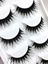 Eyelashes lash Full Strip Lashes Eyes Crisscross Thick Lifted lashes Volumized Handmade Fiber Black Band 0.10mm 15mm
