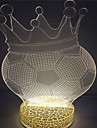 Creative Custom Design High Quality 3D Illusion Night Table Light