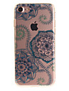 For iPhone 7 7plus 6s 6 Plus SE 5s 5 TPU Material IMD Process Dream Flower Pattern Phone Case