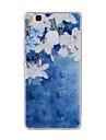 Pour Motif Coque Coque Arriere Coque Fleur Flexible PUT pour HuaweiHuawei P9 Huawei P9 Lite Huawei P8 Huawei P8 Lite Huawei Y635 Huawei