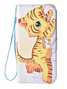 For Samsung Galaxy S7 edge S6 Card Holder Wallet with Stand Case Full Body Case Tiger Hard PU Leather for S7 S6 edge