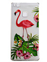 For Huawei P9 P9 LITE Case Cover Flamingo Pattern High Permeability Painting TPU Material Phone Case
