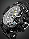 SANDA Men\'s Kids\' Sport Watch Military Watch Smart Watch Fashion Watch Wrist watchCalendar Water Resistant / Water Proof Alarm Luminous