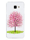 For Samsung Galaxy  A3(2016) Cover Case Glow in The Dark IMD Pattern Case Back Cherry tree Soft TPU for  Samsung A5(2016)