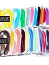 120шт рюш бумаги 5mmx54cm (24 цвета на выбор) DIY Craft художественное оформление