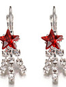 Women\'s Stud Earrings Crystal Alloy Jewelry For Party