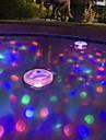 brelong llevo tina de bano la luz del bebe banera fluorescente luz de la piscina bajo el agua la luz de colores (DC4.5)