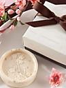 presentes de Natal mini-cereja forma flor de sabonete (cor aleatoria)