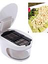Чеснок Other For Для овощного / Для приготовления пищи Посуда / Other Пластик / Нержавеющая стальВысокое качество / Многофункциональный /