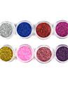1PCS Лазерная Блеск акриловая пудра для 3D Nail Art (разных цветов, № 9-16)