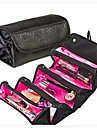 Makeup Bag Cosmetic Organizer Makeup Storage Roll N Go Roll Up Foldable Case Pouch Toiletry Organizer Multifunction Large Capacity