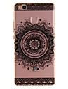 For Huawei P9 Lite P8 Lite TPU Material IMD Process Mandala Flowers Pattern Phone Case for Y6II Enjoy 5 Honor 8