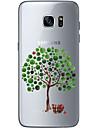 용 울트라 씬 투명 패턴 케이스 뒷면 커버 케이스 나무 소프트 TPU 용 Samsung S7 edge S7 S6 edge plus S6 edge S6