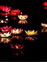 lotus dom Dia dos Namorados desejando vela votiva cor da lampada vela de aniversario lampada lanterna agua casamento decoracao ramdon